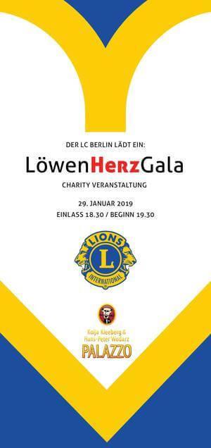 Engagement für LöwenHerzGala – Charity Veranstaltung des LC Berlin