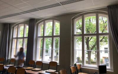 Neues vom Bauport-Partner hans timm fensterbau: Holz-Kastenfenster und Runderneuerung – Auftrag Grundschule unter den Kastanien, Berlin