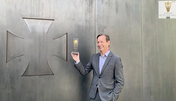 """fittkau metallgestaltung gmbh gewinnt Wettbewerb """"Deutscher Metallbaupreis 2020"""""""