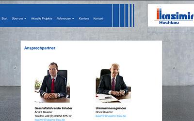 Die bauport´ler: Horst Kasimir Bauunternehmung GmbH