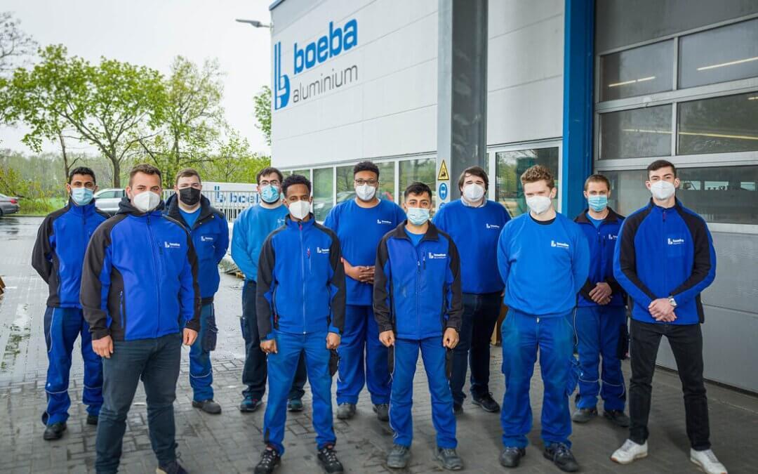 boeba aluminium bildet weiterhin aus…